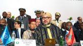 الملك بالاتحاد الإفريقي