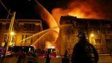 حريق بنيويورك