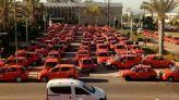 احتجاجات التاكسيات بأكادير 1