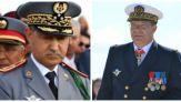 الجنرال الوراق ونظيره الفرنسي