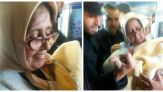 ممرضة تشرف على ولادة داخل قطار