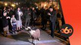 """cover Video - Le360.ma • """"معزة"""" تخلق الحدث في إحتفالات الأمازيغ بأكادير"""