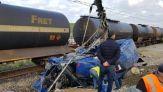 حادث اصطدام قطار بطنجة