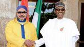 الملك ورئيس نيجيريا