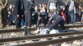 انتحار تحت عجلات قطار