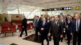 الملك يدشن عددا من البنيات التحتية بمطار محمد الخامس