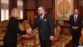 الملك يستقبل نائبة رئيس اللجنة الأوروبية فيديريكا موغيريني