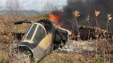 تحطم طائرة حربية بضواحي تاونات 2