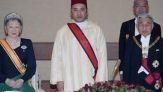 الملك محمد السادس وإمبارطور اليابان أكيهيتو