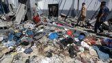 قصف مركز تاجوراء للمهاجرين
