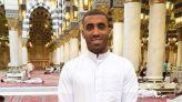 حمدالله يزور المسجد النبوي