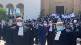 وقفة احتجاجية للمحامين بالبيضاء