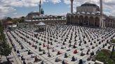 المساجد تركيا كورونا