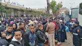 ازدحام بمحطة ولاد زيان بالدار البيضاء