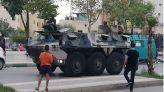 بالصور: الجيش يعود من جديد إلى شوارع فاس لمواجهة كورونا