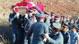 جنازة دركي قتل دهسا بمدينة الهرهورة