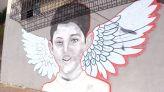 جدارية بسيدي مومن ترحما على روح الطفل عدنان