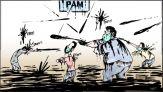 كاريكاتير البام