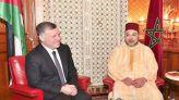 الملك محمد السادس وملك الأردن