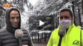 cover: مدينة إفران تكتسي حلة البياض مع أولى التساقطات الثلجية