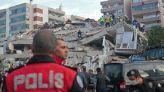 زلزال إزمير بتركيا