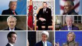 الملك محمد السادس محاط برؤساء ومسؤولين أمريكيين