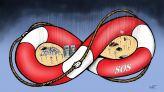 كاريكاتير فيضانات البيضاء