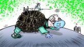 كاريكاتير اللقاح