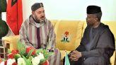 الملك محمد السادس والرئيس النيجيري محمد بوهاري.