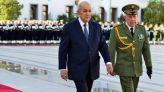 الرئيس الجزائري عبد المجيد تبون، والجنرال سعيد شنقريحة