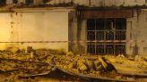انهيار واجهة أحد أشهر الفنادق التاريخية بطنجة
