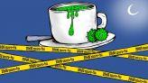 """كاريكاتير: كورونا يحرم المغاربة من """"قهوة المساء"""" خلال رمضان"""