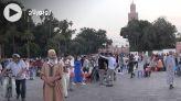 Cover Vidéo - في انتظار عودة الحلايقية، ساحة جامع الفنا تسترجع بهجتها