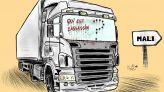 كاريكاتير: من وراء مقتل سائقين مغاربة بمالي؟