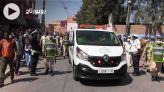 cover مئات المواطنين بآيت ملول يشيعون جنازة السائق القتيل بمالي