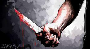 جريمة سكين