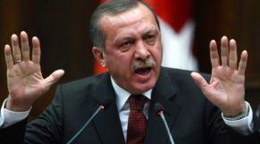 أردوغان غاضب