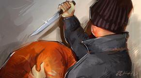 اعتداء سكين