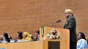 الملك في أديس أبابا