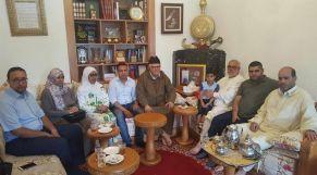 بنكيران رفقة عائلات المعتقلين