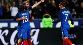 لاعبين من المنتخب الفرنسي