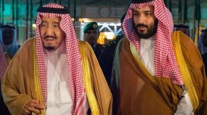 ملك السعودية وولي عهده