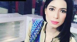 مذيعة متحولة باكستانية