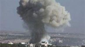 قصف مطار التيفور سوريا
