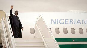 الرئيس النيجيري بوهاري يغادر المغرب