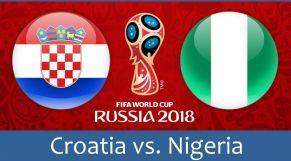 نيجيريا وكرواتيا