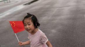 طفلة صينية