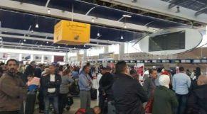 ازدحام في مطار محمد الخامس