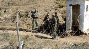 عناصر من الجيش في الحدود