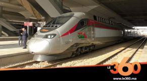 Cover_Vidéo:Le360.ma •Voici l'arrivée majestueuse du TGV à Rabat